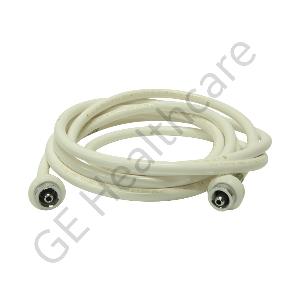 Hose Assembly Vacuum White 15 ft DISS