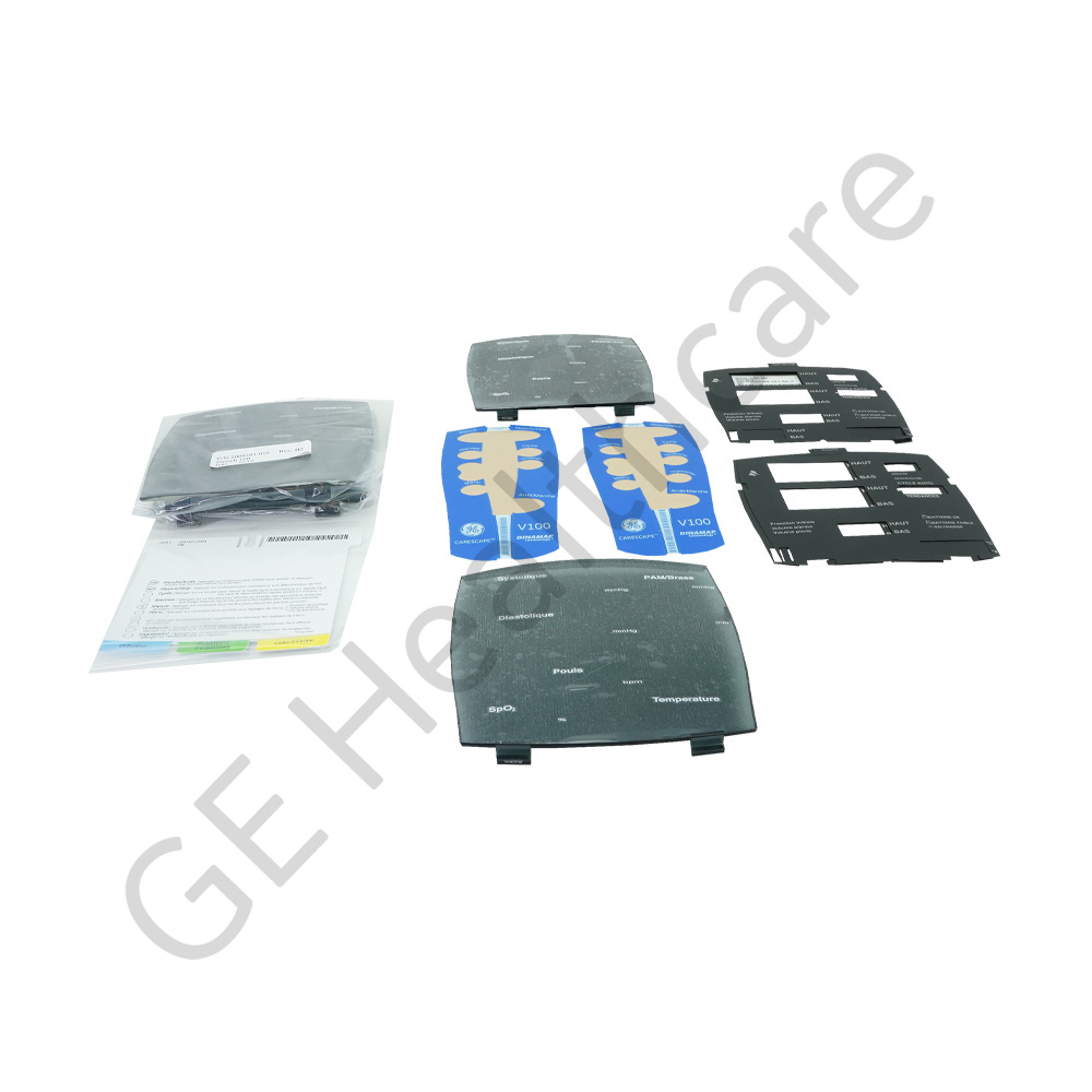 Carescape v100 Fascia Kit - Front