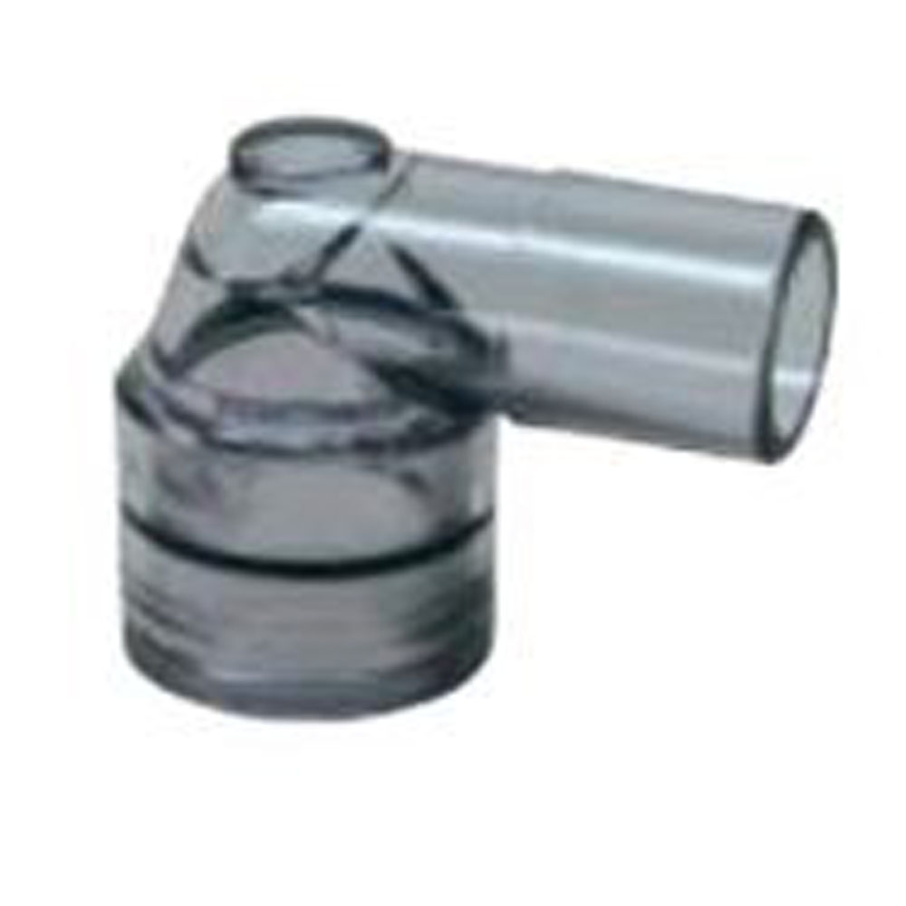 010-643RGE, ANGLED SWIVEL CONNECTOR, ADULT, REUSABLE, BOX OF 10