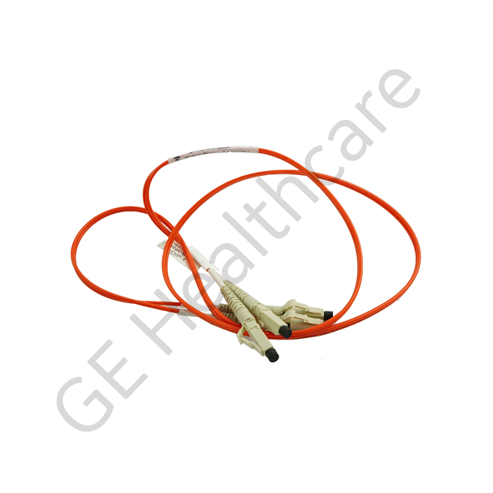 Cable Assembly Fiber Optic 62.5-125 um LDD Zip LC Duplex X1m