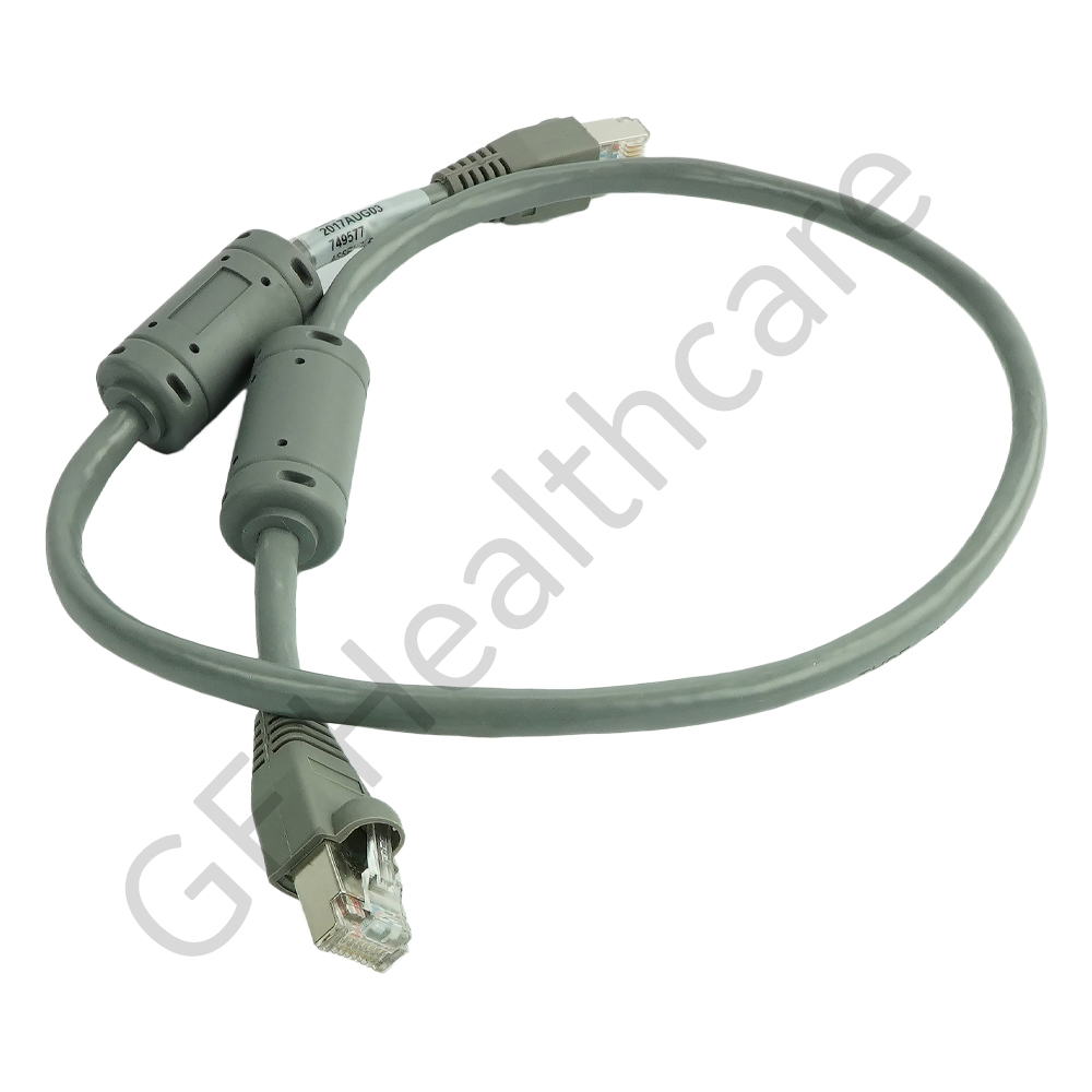 Cable Ethernet 2ft LG - CAT5E 4 Twisted Pair 24 AWG SCS