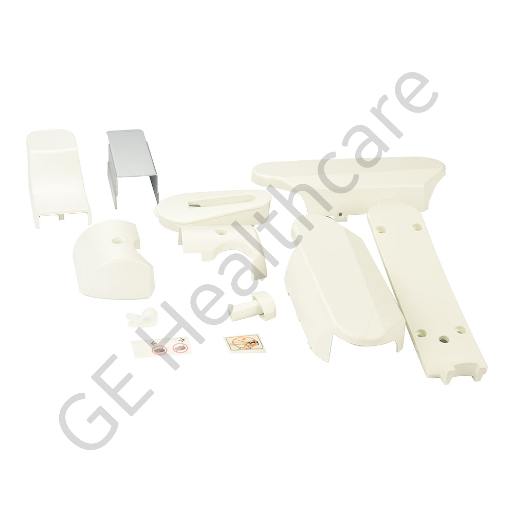 LOGIQ P5 Flexible Arm Cover Set Plastic