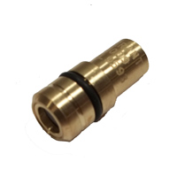 Valve Back Pressure OD 12.7 Brass 6 psi Crack Machined